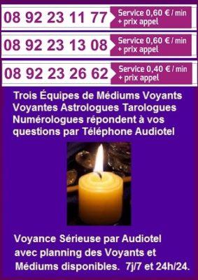 voyance sérieuse audiotel par téléphone-0892231177